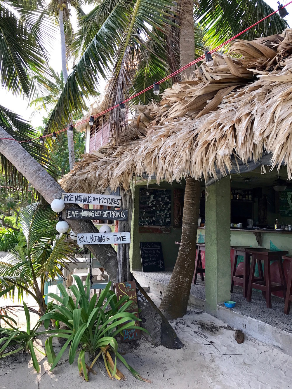 Ambergris Caye Belize yoga