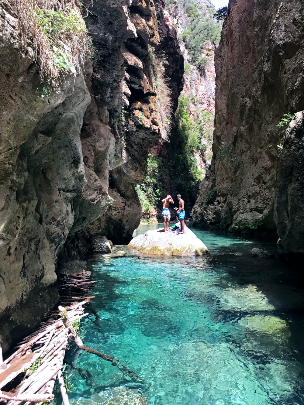Akchour Morocco river canyoneering | Photos of Morocco
