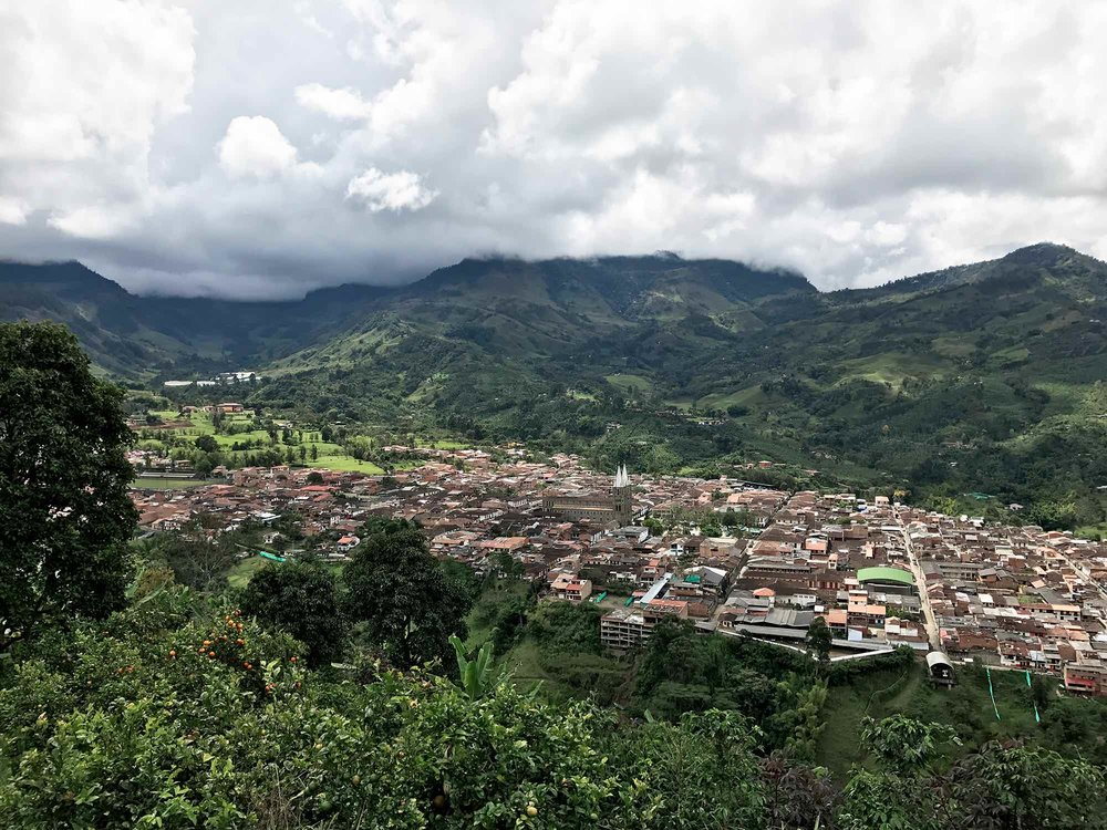 Town of Jardín, Colombia Coffee Region
