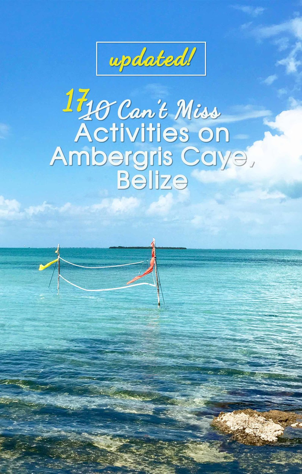 What To Do on Ambergris Caye, Belize