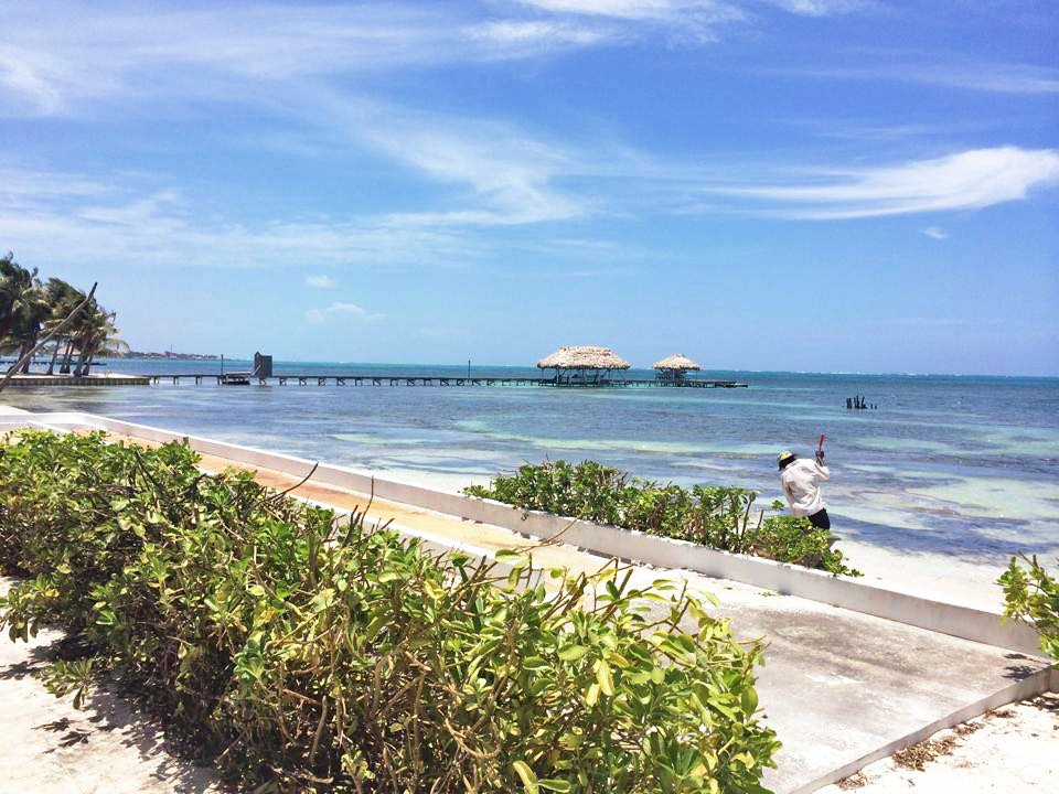 bowling on the beach | Ambergris Caye, Belize