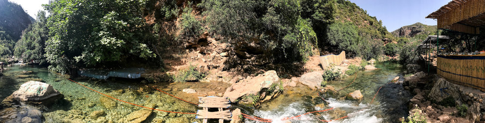Discover the hidden paradise of Akchour | Hiking in Morocco