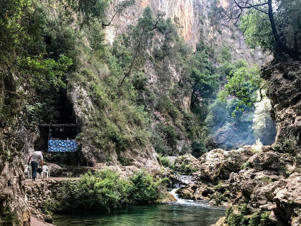 Discover the hidden paradise of Akchour river and waterfall | Hiking in Morocco
